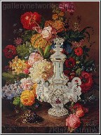Flowers and Meissen Vase