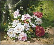 A Still Life of Mixed Summer Flowers