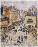 Le Boulevard Haussmann, Paris