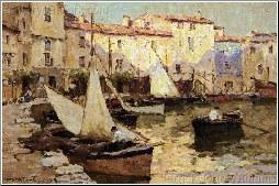Harbour At Martigues