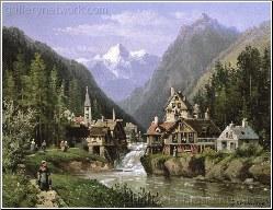 An Alpine Village