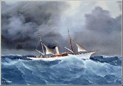 Lord Howard De Walden's Yacht 'Branwen'