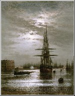 The Large Roadstead at Kronstadt 1860