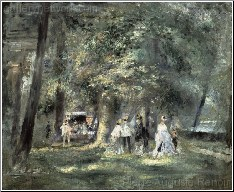 Dans la Parc de Saint Cloud 1866