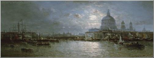 The Thames at Dusk