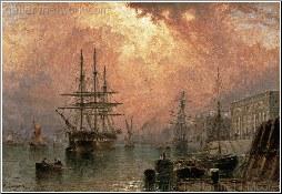 H.M.S. War Sprite Off Greenwich