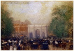 A View of Marble Arch, London