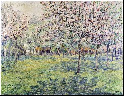 The Orchard at Blossom Time