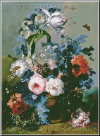 A Still Life of Roses and Poppies