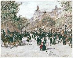 Soulevard Haussmann, Paris
