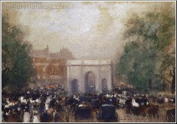 A View of Marble Arch london