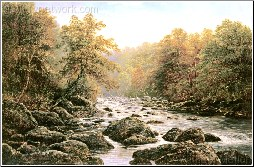 A Highland River, Scotland